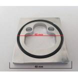 Pierścień pod baterie bidetową  FONTE ELY  ZBAS 051