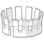 Pierścienie ślizgowe do wylewki AVENTA Oras 159647V
