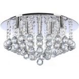 Plafon 48 cm + LED Azzardo BOLLA AZ1287 chrom / kryształ