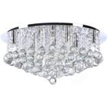 Plafon 58 cm Azzardo BOLLA AZ1288 chrom / kryształ