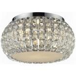 Plafon + LED Azzardo SOPHIA AZ0521 5-punktowy chrom / kryształ