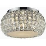 Plafon + LED Azzardo SOPHIA TOP AZ0695 6-punktowy chrom / kryształ