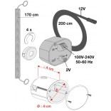 Podtynkowy zestaw instalacji zasilania Laufen 898660