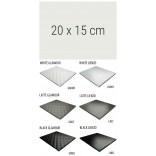 Półka szklana 20x15 MCJ FLAT/BEND GA 200/15/GMWH glamour/lienzo