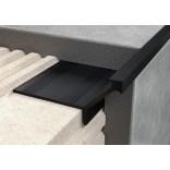 Profil QN narożny ochronny aluminiowy elektropolerowany 250 Excellent LIPNACZ.10/250 czarny
