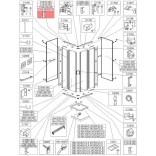 Profil bieżnia prosty Sanplast KCKN/CLII 660-C1945