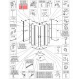 Profil bieżnia prosty Sanplast KCKN/CLII 660-C1946