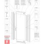 Profil bieżnia prosty Sanplast TX5 660-C2078