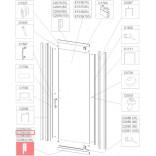 Profil bieżnia prosty Sanplast TX5 660-C2080