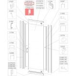 Profil bieżnia prosty Sanplast TX5 660-C2081