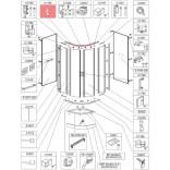 Profil poziomy - bieżnia Sanplast CLII 660-C1785 biew