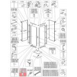 Profil poziomy prosty Sanplast CLII 660-C1834 biew