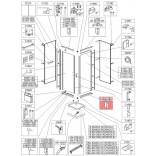 Profil poziomy prosty Sanplast CLII 660-C1837 biew