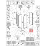 Profil poziomy prosty Sanplast CLII 660-C1838 biew