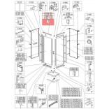 Profil poziomy prosty Sanplast CLII 660-C1845 biew