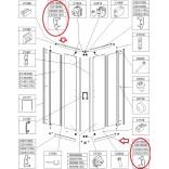 Profil poziomy prosty górny (P), dolny (L) Sanplast TX5 660-C2022
