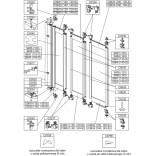 Profil poziomy-ściana skrajna do kabiny nawannowej 120 cm ASPIRA Sanplast 660-C0623-01-000-00