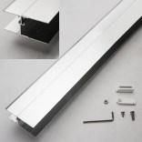 Profil regulacyjny do do drzwi ASPII Sanplast ASPIRA II 661-A0028-38 srebrny błyszczący