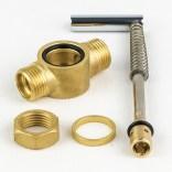 Przełącznik strumienia prysznic / wylewka do baterii czterootworowej DA5032, HS4132 Omnires CZ0511 / DA5032P
