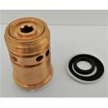 Przełącznik strumienia prysznic / wylewka do baterii wannowej HS4130 Omnires CZ0596