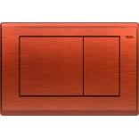 Przycisk spłukujący WC Tece PLANUS 9240365 antyczna miedź