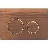 Przycisk spłukujący do WC Geberit SIGMA21 115.650.JX.1 orzech włoski / czerwone złoto