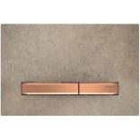 Przycisk spłukujący do WC Geberit SIGMA50 115.670.JV.2 imitacja betonu / czerwone złoto