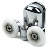 Rolki dolne podwójne do kabin prysznicowych New Trendy JIM-RP/D/ST stary typ