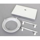 Sanplast Adapter z pokrywką do brodzika prostokątnego 660-C1576 chrom
