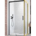 Ścianka boczna 100x200 Radaway IDEA BLACK S1 387052-54-01R prawa
