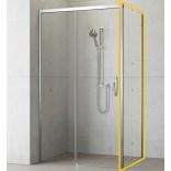 Ścianka boczna S1 80x200 Radaway IDEA 387051-01-01R prawa chrom