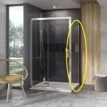 Ścianka prysznicowa 10PS-90 Ravak 10° 9UV70C00Z1 aluminium + transparent