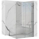 Ścianka prysznicowa 120x100 Rea CORTIS REA-K7211