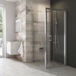 Ścianka prysznicowa BLPSZ-80 Ravak BLIX X93H40C00Z1 aluminium + transparent