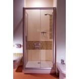 Ścianka prysznicowa RPS-80 biała+transparent Ravak RAPIER 9RV40100Z1