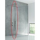 Ścianka prysznicowa walk in 30x200 New Trendy NEW MODUS EXK-0053