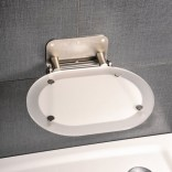 Siedzisko prysznicowe Ravak OVO CHROME B8F0000029 nierdzewne