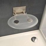Siedzisko prysznicowe Ravak OVO P CLEAR B8F0000000 POEKSPOZYCYJNE