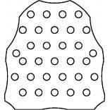 Sitko stalowe do pisuaru Keramag RENOVA NR. 1 510410
