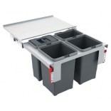 Sortownik do odpadów 28L do szafki 40 cm Franke CUBE 134.0039.330