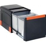 Sortownik odpadów 34L do szafki 40 cm Franke CUBE 134.0055.271