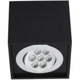 Spot natynkowy Nowodvorski BOX LED BLACK 7W 6427