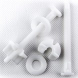 Śruby mocujące z tworzywa do deski sedesowej Koło IDOL AZ007