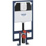 Stelaż do WC  podtynkowy Rapid SL ze spłuczką do WC 6 - 9 l 625 x 1130 x 95 mm  38994000