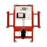 Stelaż podtynkowy do WC dla osób niepełnosprawnych ze spłuczką podtynkową Tece TECEprofil 9.300.009