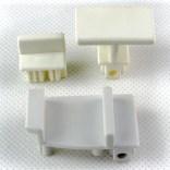 Suwaki dolne-komplet do kabiny DTR/ASP-S Sanplast 660-C0120