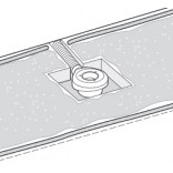 Syfon brodzikowy 90x80 z osłoną 12l/min Roca A27L045000