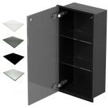 Szafka do zabudowy czarna 30x60 MCJ ZERO Z.PWD LBL 3060/15 WH glossy/mirror