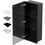 Szafka do zabudowy czarna 30x70 MCJ ZERO Z.PWD LBL 3070/15 WH glossy/mirror