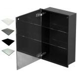 Szafka do zabudowy czarna 40x60 MCJ ZERO Z.PWD LBL 4060/15 WH glossy/mirror